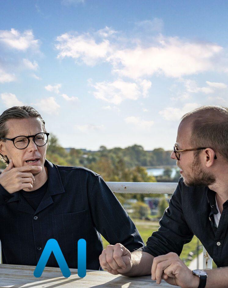 Møde AI kollegaer